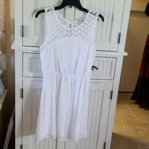American Ragcie 1784 white dress